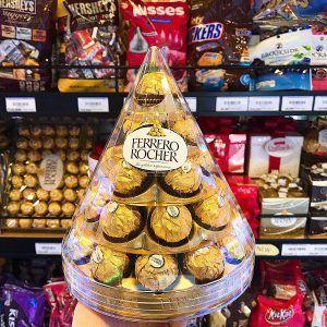 Sô cô la Ferrero Rocher hình tháp cây thông 350g